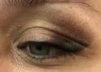 DAY SPA INNOWACJE - oczy - kreski górne liner z linia rzes + lift effect 2 pigmenty cieniowane na kącie zew. powieki ruchomej + nieruchomej
