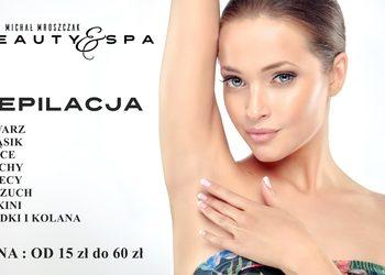 DZIERŻONIÓW Salony fryzjerskie MICHAŁ MROSZCZAK Beauty&SPA - depilacja łydki + kolana