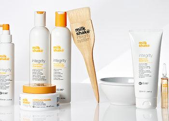 Kokurowski  Rakowicka 11 - olejowanie włosów milk shake - zabieg odbudoujący strukturę włosów
