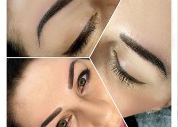 Institute Essence - makijaż permanentny brwi metoda cieniowana
