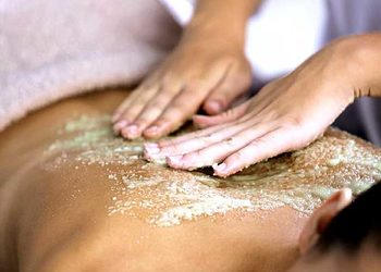 Relax in SPA  - body scrub massage