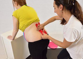 FizjoHome - kinesiotaping kobiet w ciąży i po porodzie