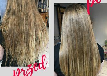 Druga Strona Lustra - olejowanie włosów + czesanie