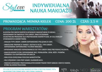 STYLOVO - indywidualna lekcja makijażu