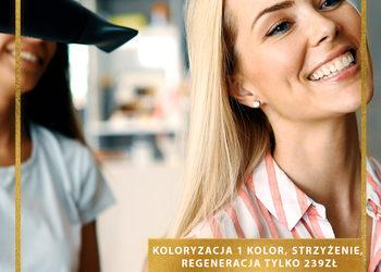 J'adore Instytut Kraków -  koloryzacja l'oreal 1 kolor ze strzyżeniem z myciem i modelowaniem  / hair coloring l'oreal 1 color with haircut with washing and modeling