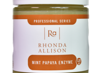 Art of Cosmetology - rhonda allison mint papaya enzyme peel