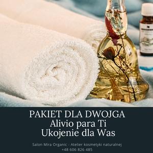 Mira Organic - Atelier kosmetyki naturalnej - ALIVIO PARA TI dla dwojga