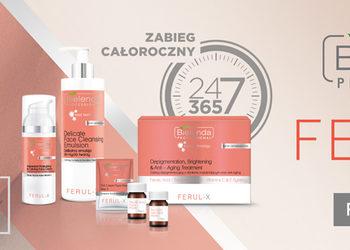 ZABIEGANE Kosmetologia estetyczna  - bielenda professional ferul x zabieg rozjaśniający przebarwienia i anti-age