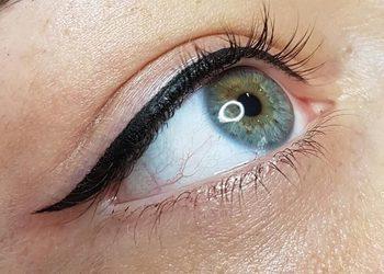 Indigo Nailsalon by Yennefer - kreska górna - eyeliner (ozdobna) promocja