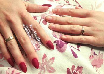 KosMedical - manicure hybrydowy/żelowy + przedłużanie