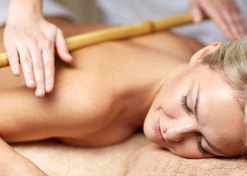 """""""Lavinia""""Studio Urody - masaż bambusami (tył ciała)"""