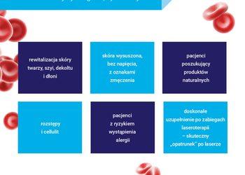 Klinika JustSkin  - osocze bogatopłytkowe - podwójna dawka - twarz