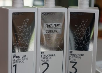 Fryzjerzy z Garnizonu - 2. rekonstrukcja włosów framesi morphosis re structure