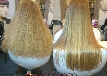 """Salon Fryzjerski """"KAMEO"""" - keratynowe prostowanie ( długie włosy)"""