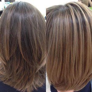 Beauty Salon Matrioshka  - Baĺajage średnie włosy