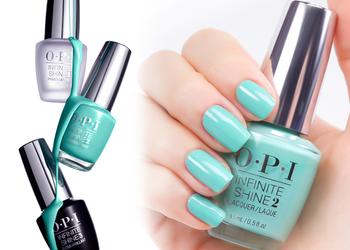 "Salon Urody ""Livrette"" - manicure infinite shine o.p.i"