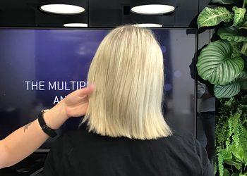 Salon concept.hair Katowice - kolor rozświetlony blond
