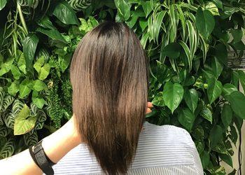Salon concept.hair Katowice - kolor klasyczny (czarny, brązowy, ciemny blond, blond, rudości) usługa z modelowaniem włosów