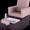 Pedicure chair social media