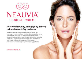 Klinika JustSkin  - neauvia - komponowany spersonalizowany zabieg do potrzeb skóry na twarz + szyję + dekolt każdy zabieg zakończony maską rigen