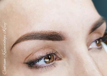 Centrum Kosmetologii Kirey Gliwice - korekta makijażu permanentnego - brwi  (kontynuacja zabiegu podstawowego)
