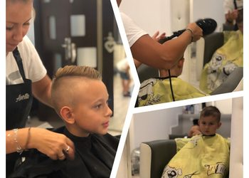 Studio Urody Fashion - strzyżenie chłopców