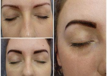 Klinika Piękna MaVie - stylizacja brwi hd z koloryzacją henną pudrowa (henna organiczna)