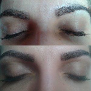 Pracownia Kosmetyczna Pracownia Fryzjerska - Rekonstrukcja brwi metodą włoskową i farbki strukturalnej