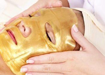 Pracownia Kosmetyczna Pracownia Fryzjerska - złota maska kolagenowa ze złotem koloidalnym