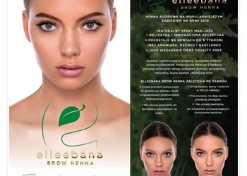 Mag-Beauty Studio Piękna - elleebana brow henna pudrowa