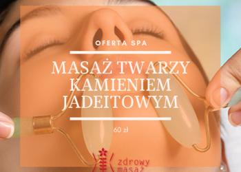 Zdrowy Masaż hotel Falko - masaż twarzy kamieniem jadeitowym
