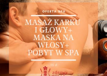 Zdrowy Masaż hotel Falko - masaż na bóle karku i głowy + maska na włosy + pobyt w spa