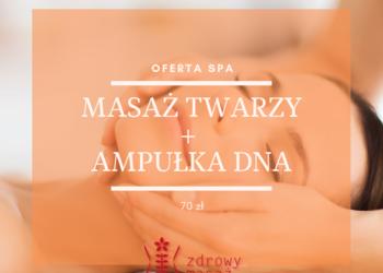Zdrowy Masaż hotel Falko - masaż twarzy + ampułka dna