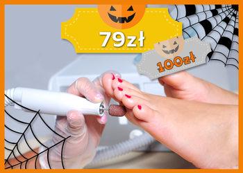 J|Klinik - pedicure kosmetyczny + malowanie paznokci lakierem gratis - jesienna promocja