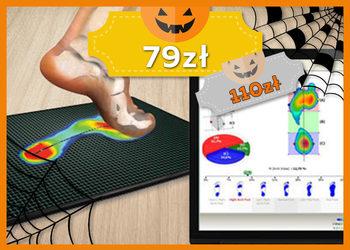 J|Klinik - badanie komputerowe stóp i postury -  jesienna promocja