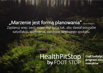 FOOT STOP - konsultacja healthpitstop - pierwsza wizyta