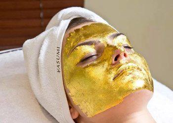Wyspa Piękna  - złota maska - 24k gold mask treatment
