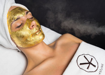 YASUMI SZCZECIN - złota maska - 24k gold mask treatment