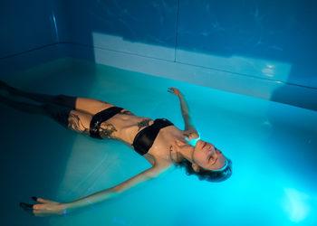Idylla Studio - floating 60'  + zabieg z masłem shea 60'