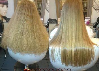 """Salon Fryzjerski """"KAMEO"""" - keratynowe prostowanie ( średnie włosy)"""