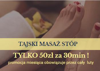 ATURI ORIENT MASSAGE - tajski masaż stóp 30min - 50zł