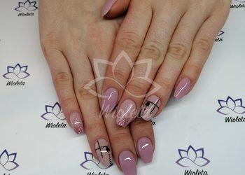 Manicure tytanowy i hybrydowy - Salon Wioleta