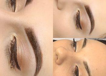 Salon fryzjerski kosmetyczny She & He - makijaż permanentny brwi nano ombre