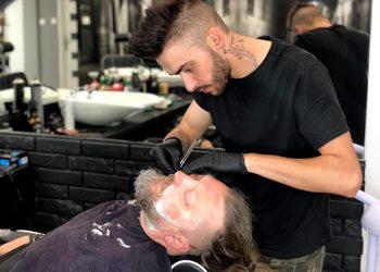 Salon fryzjerski kosmetyczny She & He - combo -strzyżenie + trymowanie brody + kontur