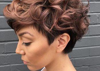 MonaVisage - ekokoloryzacja włosy kręcone krótkie lub sam odrost