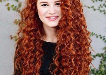 MonaVisage - ekokoloryzacja włosy kręcone długie