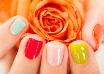 Easy Waxing - 5 manicure klasyczny vinylux 1 kolor