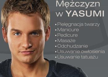 YASUMI KALISZ - balanced man express- ekspresowa terapia cery tłustej i zanieczyszczonej