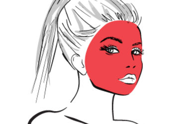 Laser DeLux / Łódź - depilacja laserowa / cała twarz