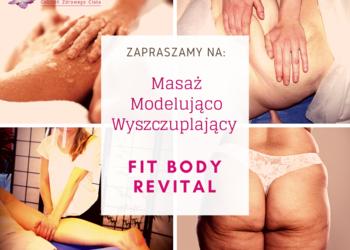 Studio Pemodelan - Gabinet Zdrowego Ciała - !1. masaż modelująco wyszczuplający   fit body revital - promocja +1 zabieg gratis